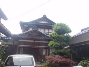 My Kutani teacher's house
