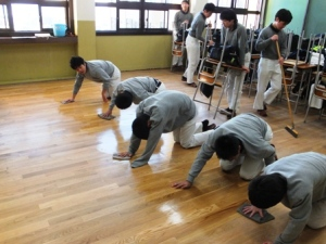 Cleaning up education in Japan